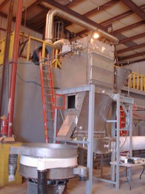 Pilot Plant Scale Baghouse/Fluid Bed System